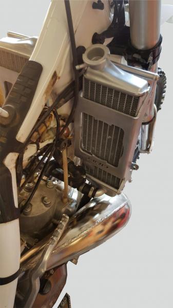 Kühlerschützer KTM SX/EXC 200/250/300 (2012 - 2016, 2-Takt)
